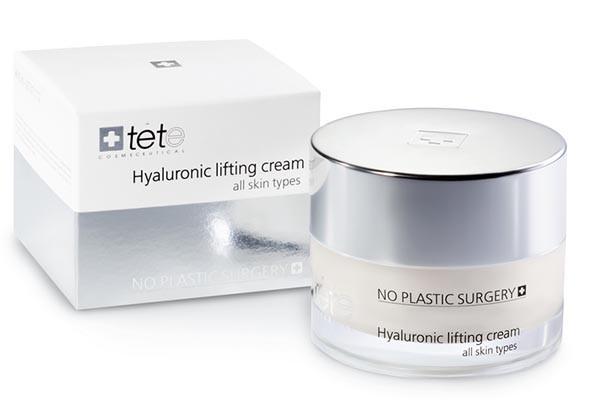 Липосомальный лифтинг-крем с гиалуроновой кислотой и пептидами Hyaluronic Lifting CreamTETe Cosmeceutical 50мл