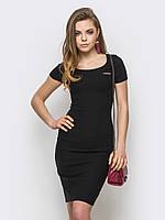 Утонченное классическое женское платье до колен 90239, фото 1