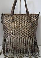 Стильная молодёжная сумка с бахромой