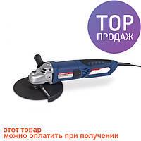 Угловая шлифовальная машина (болгарка) PowerPlus POW2087/электроинструмент