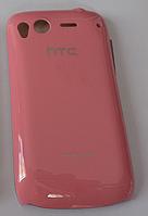 Пластиковая накладка для HTC Desire S S510E (розовый цвет)