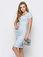 Утонченное классическое женское платье до колен 90239