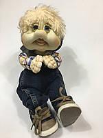 "Забавная кукла гномик ""Губастик"" (ручная работа), фото 1"