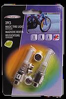 Светодиодные лампочки на колеса (батарейки и адаптер в комплекте)