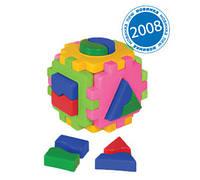 """Куб """"Розумний малюк """" Логіка 1, в кул. 10*10*10см, ТМ Технок, Україна (24шт)(2452)"""