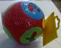 """Куб """"Розумний малюк Куля 2"""", в сетке 19см, ТМ Технок, Україна (18 шт)(3237)"""