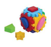 """Куб """"Розумний малюк"""" міні, в пак. 8*8*8см, ТМ Технок, Україна (42шт)(1882)"""