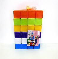 Кубики 48шт, 6*6*6см., в сетке, (4шт/уп)(02-605)