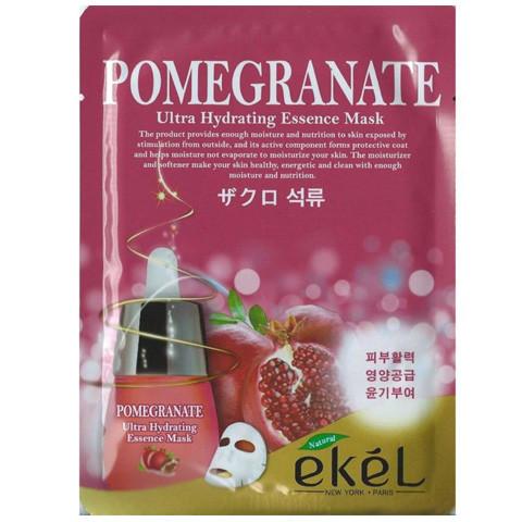 Корейская тканевая маска Ekel Pomegranate (Гранат)