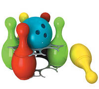 "Іграшка пластм. ""Боулінг-2"", в сетке 23*6см, ТМ Технок, Україна (8шт)(2919)"
