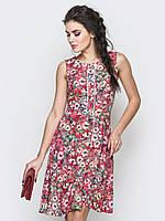Легкий летний сарафан с цветочным принтом 90243