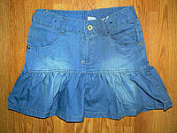 Джинсовые юбки для девочек оптом, F&D 134-164 рр.