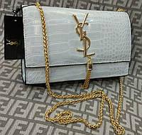 Модная сумка-клатч Yves Saint Laurent Ив Сен Лоран на цепочке