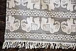 Полотенце пляжное Fil 95х175 серый Barine, фото 2