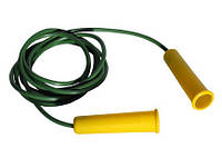 Скакалка цветная №3, 2,2м, цена за уп., в уп. 10шт, ТМ BAMSIC, произ-во Украина(035/5)