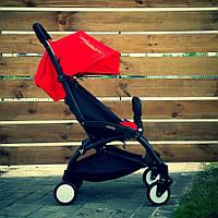 Детская коляска YOYA 175 Red, легкая, складная, компактная коляска baby yoya (Йойа) красная