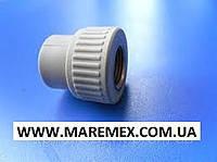 Муфта с внутренней резьбой (ВР) 25х1/2 (150/15) - Evci Plastik