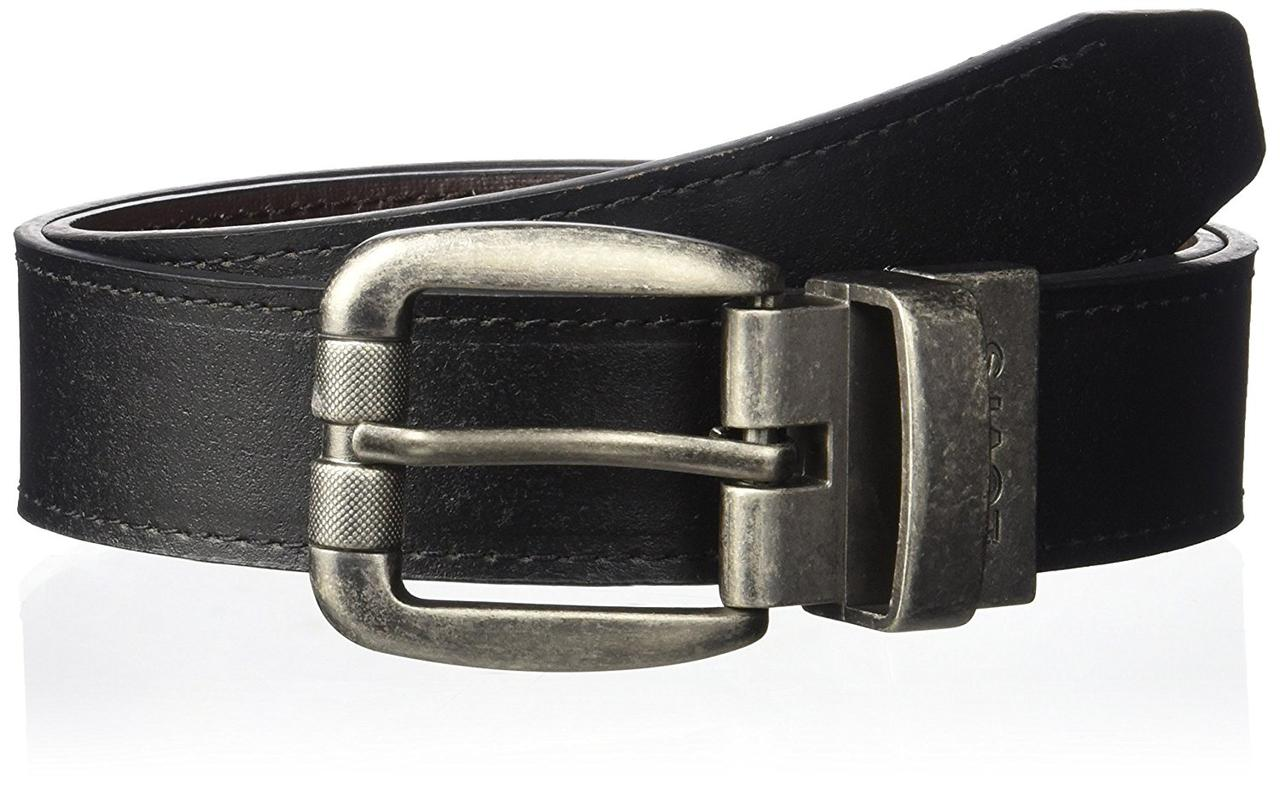 Ремень Levi's Reversible with Logo Buckle, Black/Brown