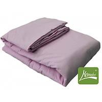 Комплект одеяло+подушка, 90*120см, шерсть, хлопок, розовый, в сумке 50*30см, ТМ Homefort(2050164)