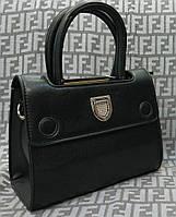 Сумка брендовая копия Christian Dior мини черная