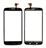 Оригинальный тачскрин / сенсор (сенсорное стекло) для Alcatel One Touch Fierce 2 OT-7040N (черный)