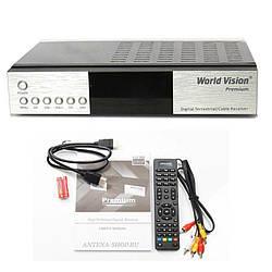 Комбинированный DVB-T2 ресивер World Vision Premium Модулятор