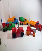 "Машина ""Денни мини бетономешалка №3"", в сет. 18*8*7см, ТМ BAMSIC, произ-во Украина (20 шт/уп)(281)"