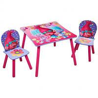Набор детской мебели Тролли Disney от WORLDS APART, фото 1