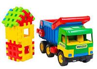 """Машина """"Строитель"""" """"Middle truck"""", в сетке 35*27см, ТМ Wader (5шт)(39202)"""