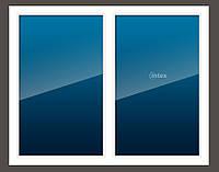 Металлопластиковое окно бу 1300мм*1400мм