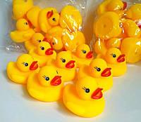 Качечки для ванни, іграшки для купання, пищалочки (1 шт.), фото 1