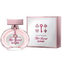 Женская парфюмерия Antonio Banderas Her Secret Game 80 ml