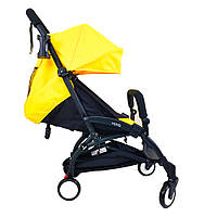 Детская коляска YOYA 175 Yellow, легкая, складная, компактная коляска baby yoya (Йойа) желтая