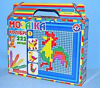 """Іграшка мозаїка """"Колібрі 1 ТехноК"""", в кор.22*20*5 см, ТМ Технок, Україна (12шт)(1080)"""