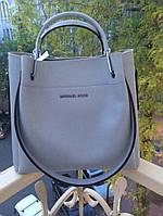 Модная сумка Michael kors MICHAEL KORS копия цвет голубой фурнитура серебро , фото 1