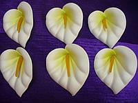 Головка калла латекс белая, фото 1