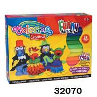 "Масса для моделирования ""Funny characters "", 19*24*6см, ТМ Colorino(32070)"
