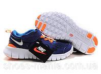 Детские кроссовки Nike Free Run синие