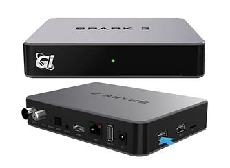 Спутниковый GI HD Spark 2 COMBO HD DVB-S2/T2/CXBMC 1GB/8GB Android 4.4