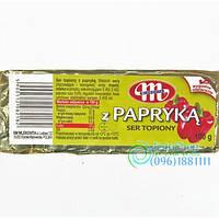 Сыр плавленый Mlekovita Paprika (с паприкой ) Польша 100г