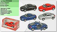 """Машина метал. """"Kinsmart"""" """"2008 Audi TT Coupe"""" в кор. 16*8,5*7,5см /96шт/4/(KT5335W)"""