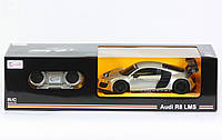 "Машина, р/у., ""AUDI R8"", масштаб 1:24, на батар., в кор. 28*10*12см(46800)"
