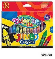"Мел ""Jombo"", 12 цветов, ТМ Colorino(32230)"