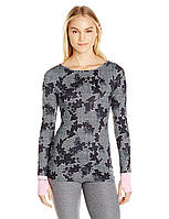 Спортивная кофта The Warm Up by Jessica Simpson, Floral Herringbone