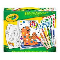 """Набор для творчества """"Картинки из наклеек"""" 4+, в кор. 24*18*6см, ТМ Crayola(04-6801)"""