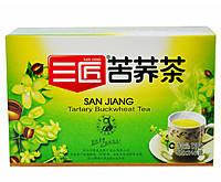 Чай из гречихи татарской Сан Цзян San Jiang гранулированный 40 пакетиков