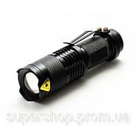 Тактичний ліхтарик Police 5000w з лінзою BL-8468