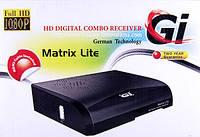 Спутниковый ресивер GI Matrix lite Combo DVB-S2/T2/C