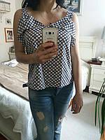 Молодежная летняя блузка, S,M,L р-ры, 235/205 (цена за 1 шт. + 30 гр.)