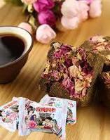 Чай травяной Бурый сахар и роза Brown Shugar Rose Siwu 38 г